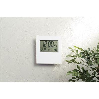 リビング電波時計(置き掛け兼用)【数量限定】の商品画像3枚目