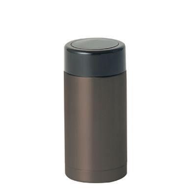 ステンレスカフェボトル 150ml:ガンメタル