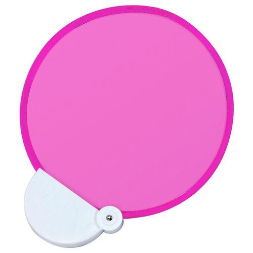 フォールディングファン カラーズ(ピンク×ピンク) :折りたたみうちわ