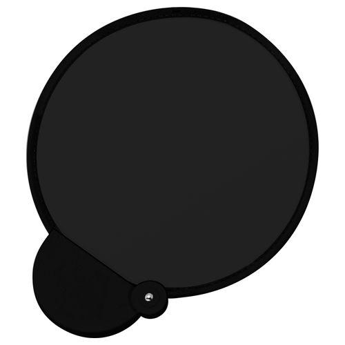 フォールディングファン カラーズ(ブラック):折りたたみうちわ