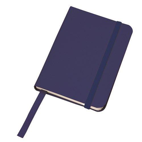 ハードカバーポケットノート :ネイビー