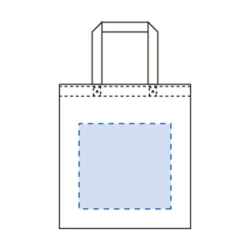 ライトキャンバスバッグ(S):ネイビーの商品画像2枚目