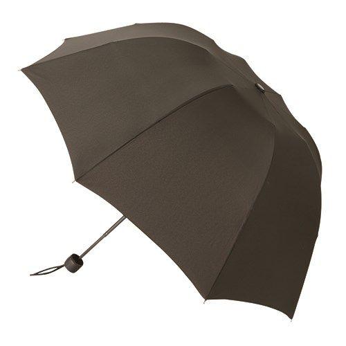 深張UV折りたたみ傘:ブラック
