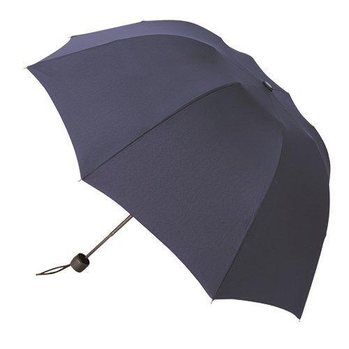 深張UV折りたたみ傘:ネイビー