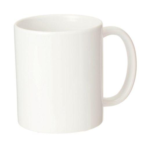 陶器マグ ストレート(M+):ホワイト