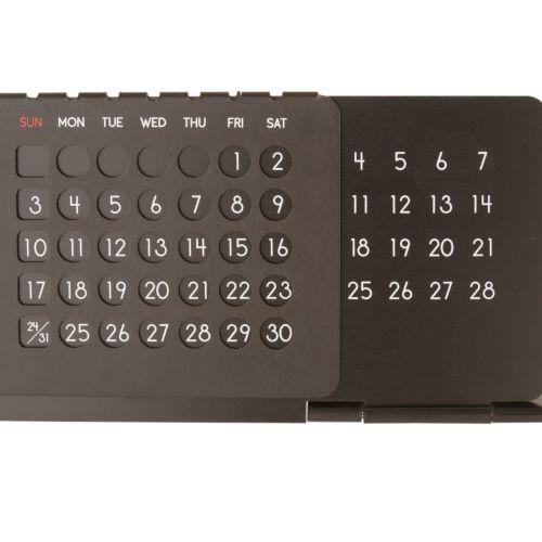 アルミ万年カレンダー:シルバーの商品画像5枚目