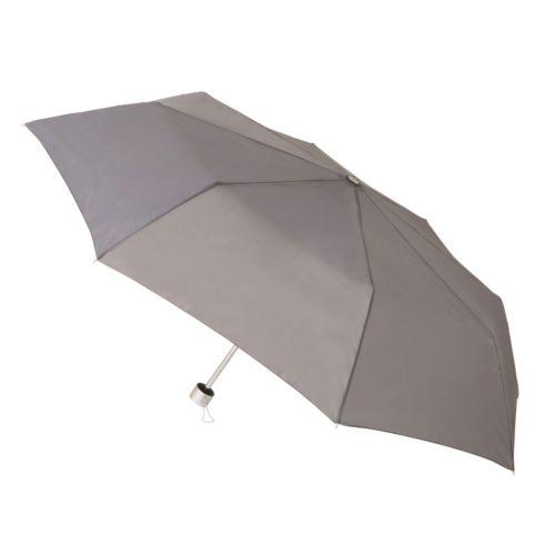 ベーシック折りたたみ傘:グレー