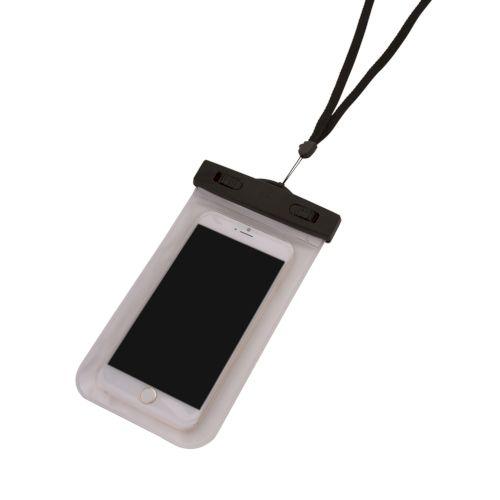 モバイルウォータープルーフポーチ 5.5インチ:ブラック