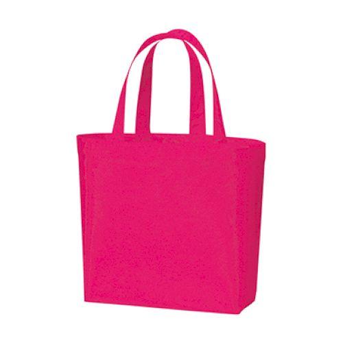 不織布スタンダードバッグ:ビビッドピンク