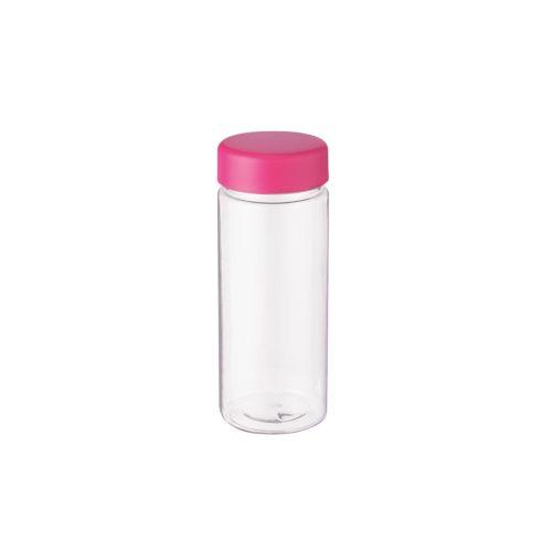スリムクリアボトル(S):ピンク