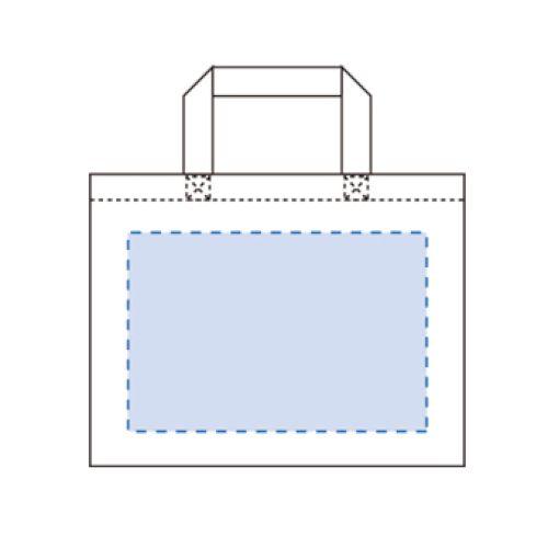キャンバスカレッジトート(M)ワイド:レッド※の商品画像3枚目