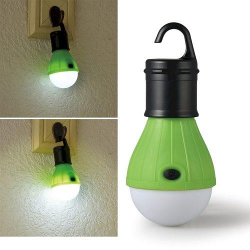 【特価】フック付電球型ライト|BA207