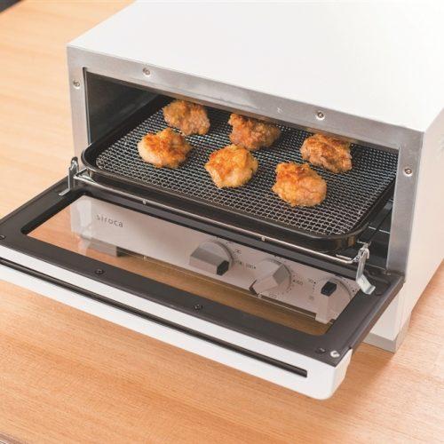 siroca ハイブリッドオーブントースター1台(ホワイト)の商品画像2枚目