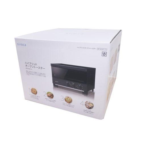 siroca ハイブリッドオーブントースター1台(ホワイト)の商品画像3枚目