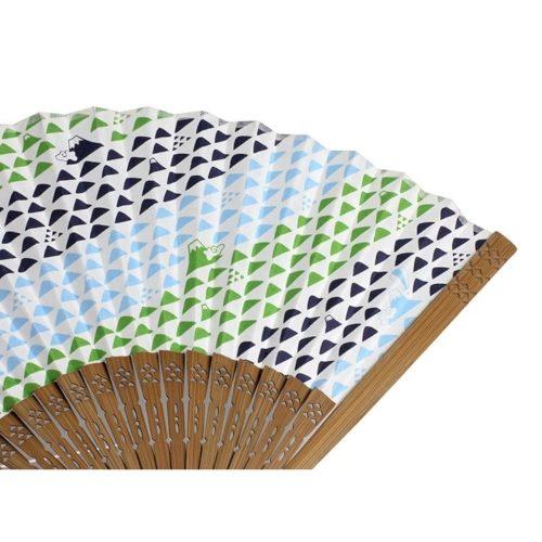 komon+ 和紙扇子 70型25間 うろこ富士の商品画像3枚目