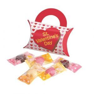 バレンタインハートチョコ5粒入:18B2356|A25-13B2233