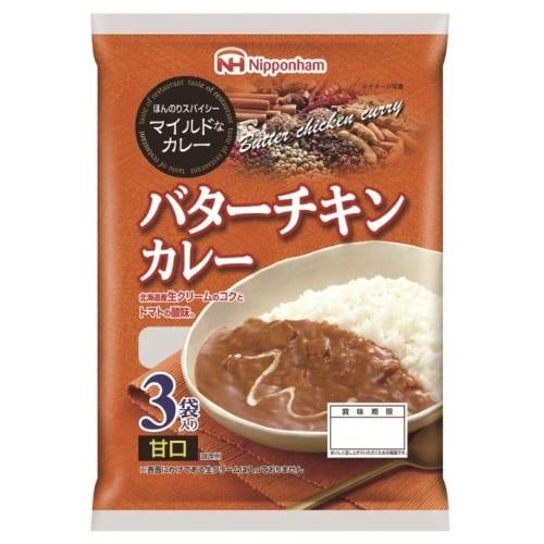 ニッポンハム バターチキンカレー3袋入(甘口)