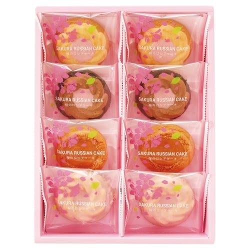 桜のロシアケーキ8個