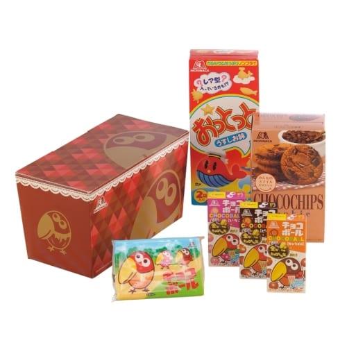 森永製菓 キョロちゃんバラエティお菓子ボックス6点