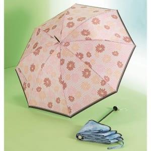 フラワーストライプ・晴雨兼用長傘 A22-181048