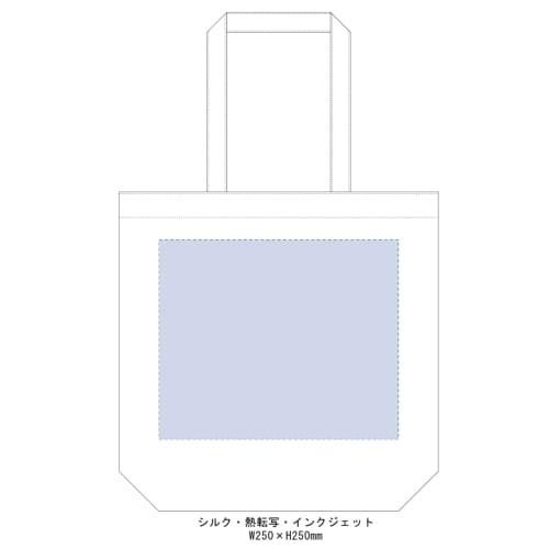 厚手コットンマチ付トート(L):ワインレッドの商品画像3枚目