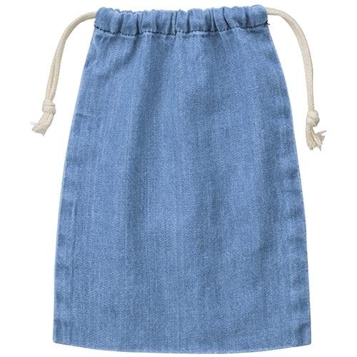 デニム巾着(M):ヴィンテージブルー
