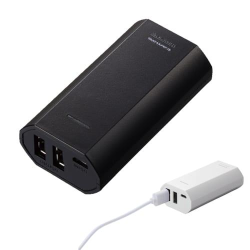 モバイルバッテリー5200:ブラック