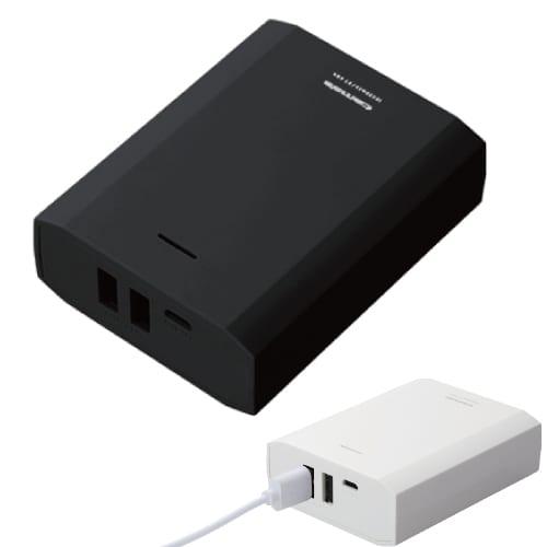 モバイルバッテリー10400:ブラック