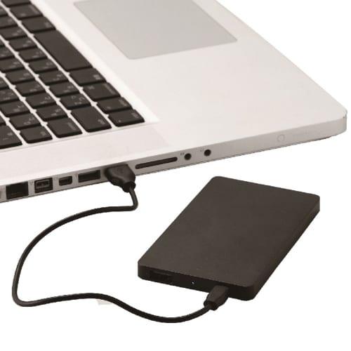 モバイルバッテリー4000(フラット)(ホワイト)の商品画像4枚目