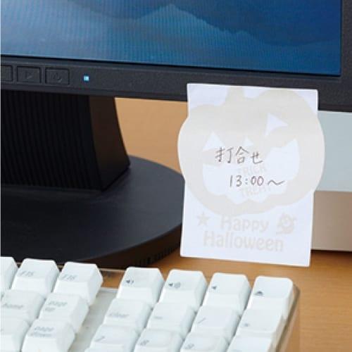 ハロウィン・ダイカットふせんメモ:19B0236の商品画像4枚目