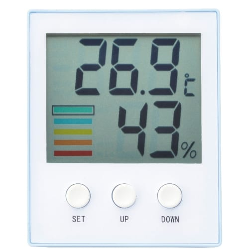 熱中対策デジタル温湿度計の商品画像2枚目