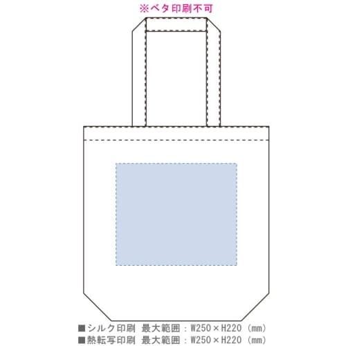 シャンブリックマチ付トート(L):グレーの商品画像3枚目
