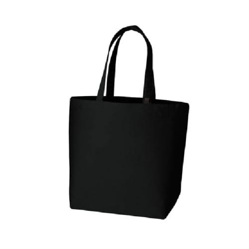 キャンバストート(M) インナーポケット付:ナイトブラック