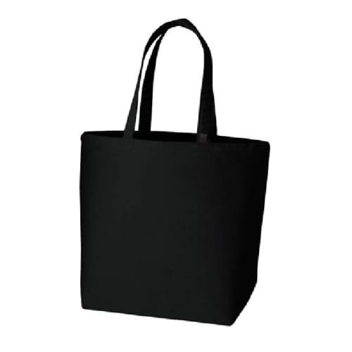 キャンバストート(L) インナーポケット付:ナイトブラック