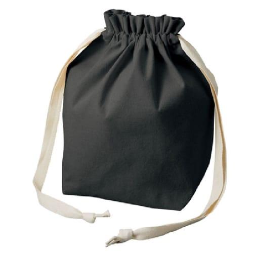 厚手コットンマロントート:ブラック