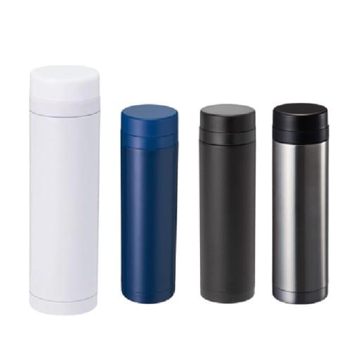 スリムサーモステンレスボトル 300ml:シルバーの商品画像2枚目