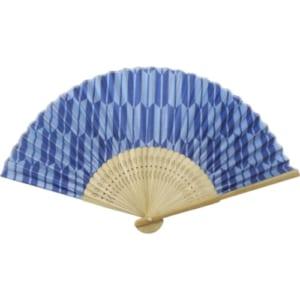 日本の伝統柄扇子 すす竹 矢絣扇子|A76-2D9738