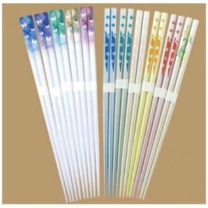 日本製 フルカラーオリジナル塗り箸(木箸)|A76-OG-003