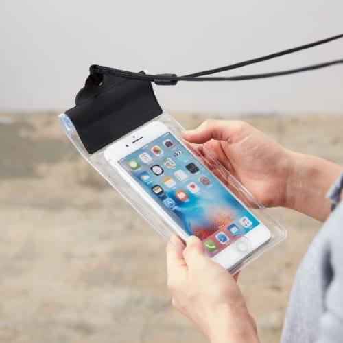 モバイル防水ポーチ(B&W)【名入れ短納期可能】の商品画像2枚目