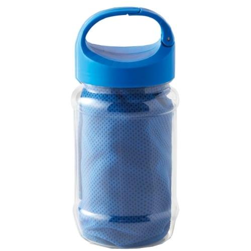 カラビナボトル付き涼感タオル 【名入れ短納期可能】の商品画像5枚目
