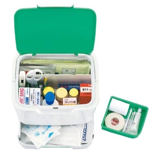収納上手な救急箱(国産品) ◆の商品画像4枚目