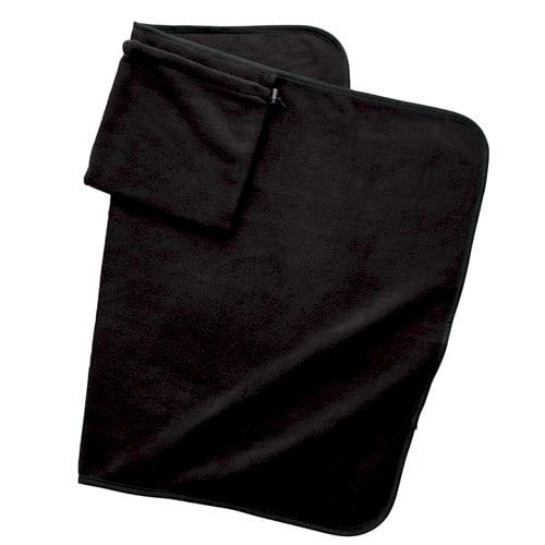 くるっと巾着収納ブランケット:ランプブラック