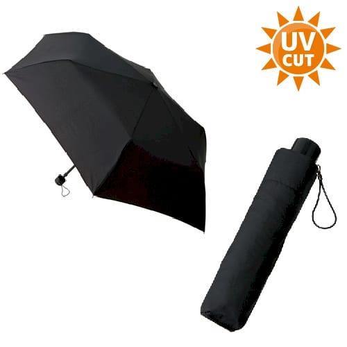 スタンダードUV折りたたみ傘:ブラック