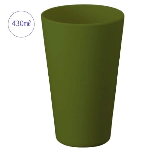 バンブータンブラー 430ml:カーキ