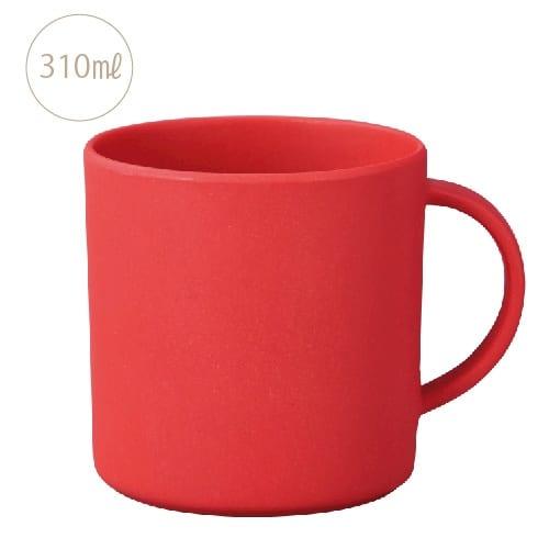 バンブーマグカップ:レッド