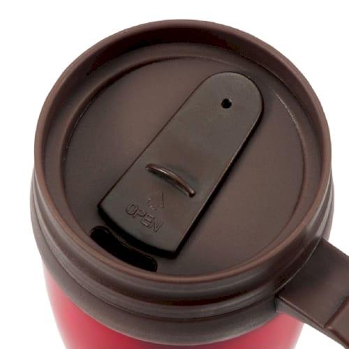 蓋付きダブルウォールマグカップ450ml1個の商品画像2枚目