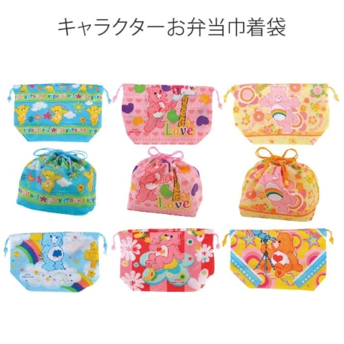 キャラクターお弁当巾着袋(C)