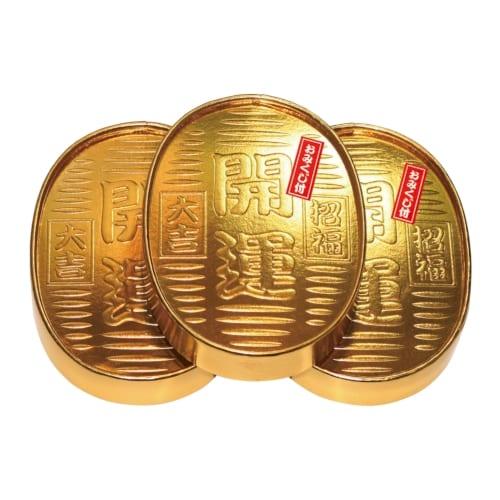 ゴールド開運小判ティッシュ10W(おみくじ付)【2020干支 子】