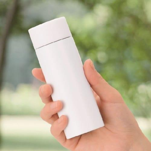 真空ステンレス ポケットボトル(ホワイト)の商品画像2枚目