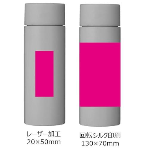 真空ステンレス ポケットボトル(ホワイト)【ミニボトル】の商品画像3枚目